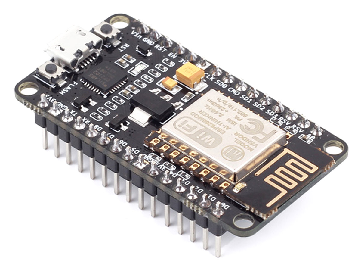 Home Automation using NodeMCU (ESP8266) board
