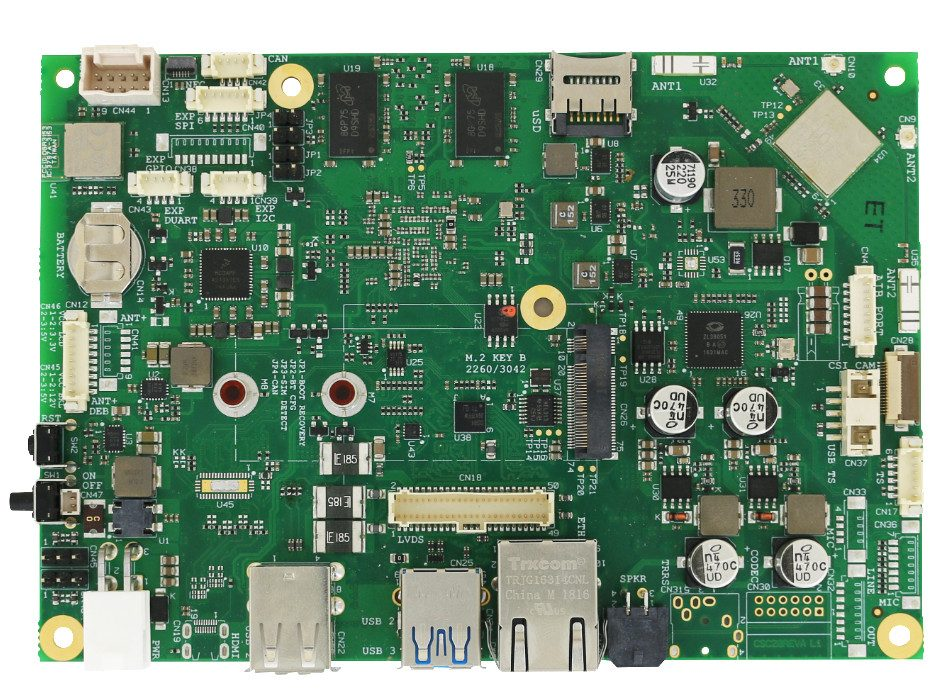"SBC-C20 – SBC with NXP i.MX 8M Applications Processors in 3.5"" form factor"