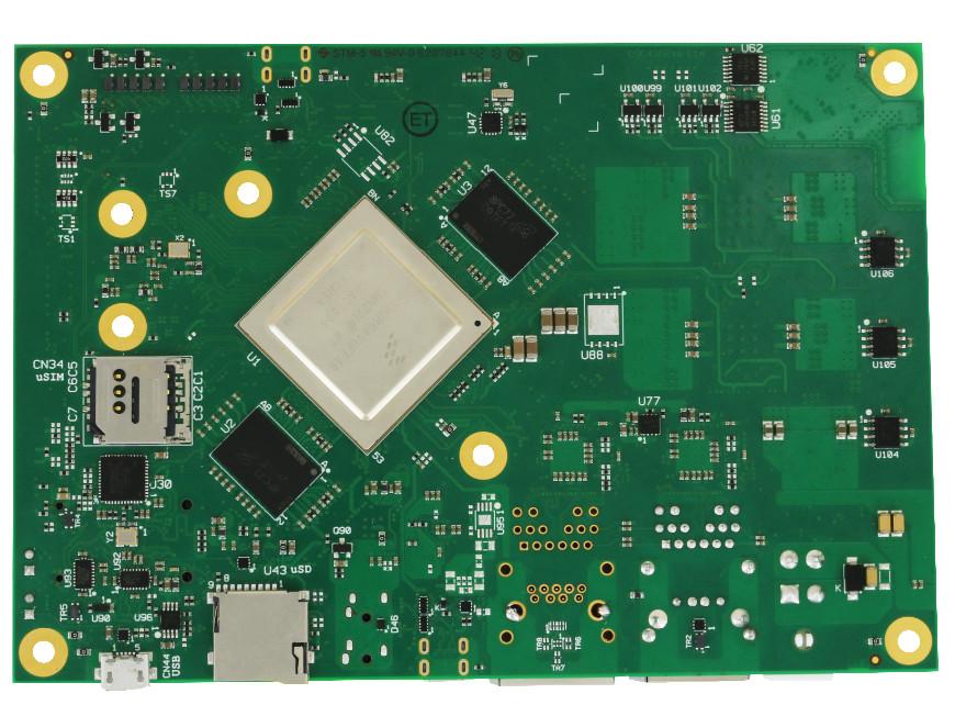 """Seco """"SBC-C43"""" Module Features Cortex-A72 enabled i MX8"""