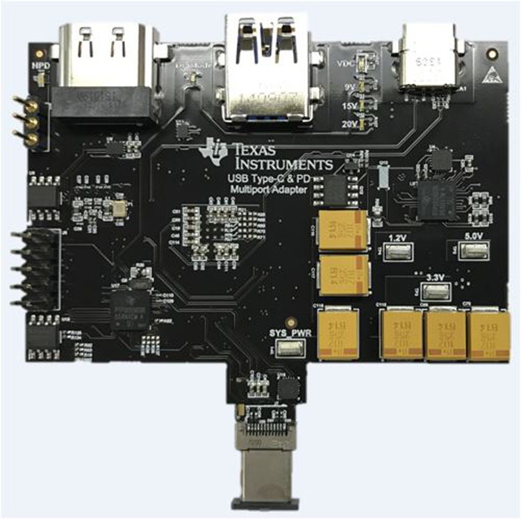 USB Type-C™ and Power Delivery Multiport Adapter Reference Design