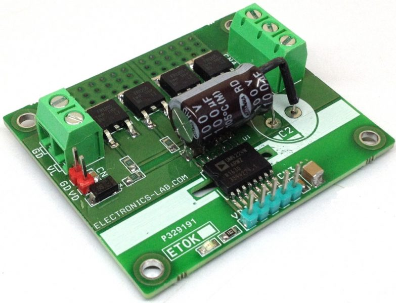 15A 100V Isolated Half-Bridge Driver