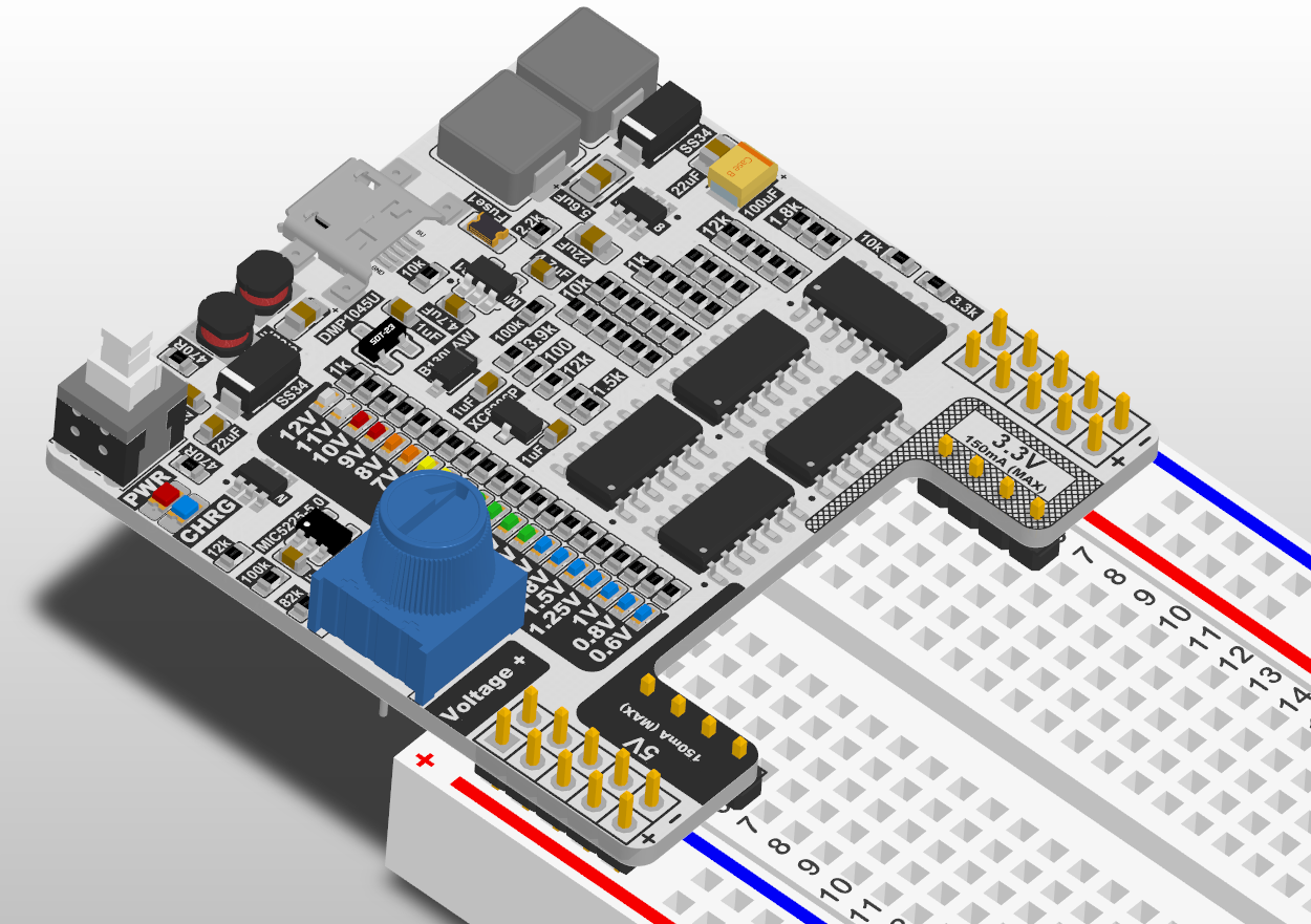 OPEN Power: A Simple Constant Power Supply with Variable Voltage