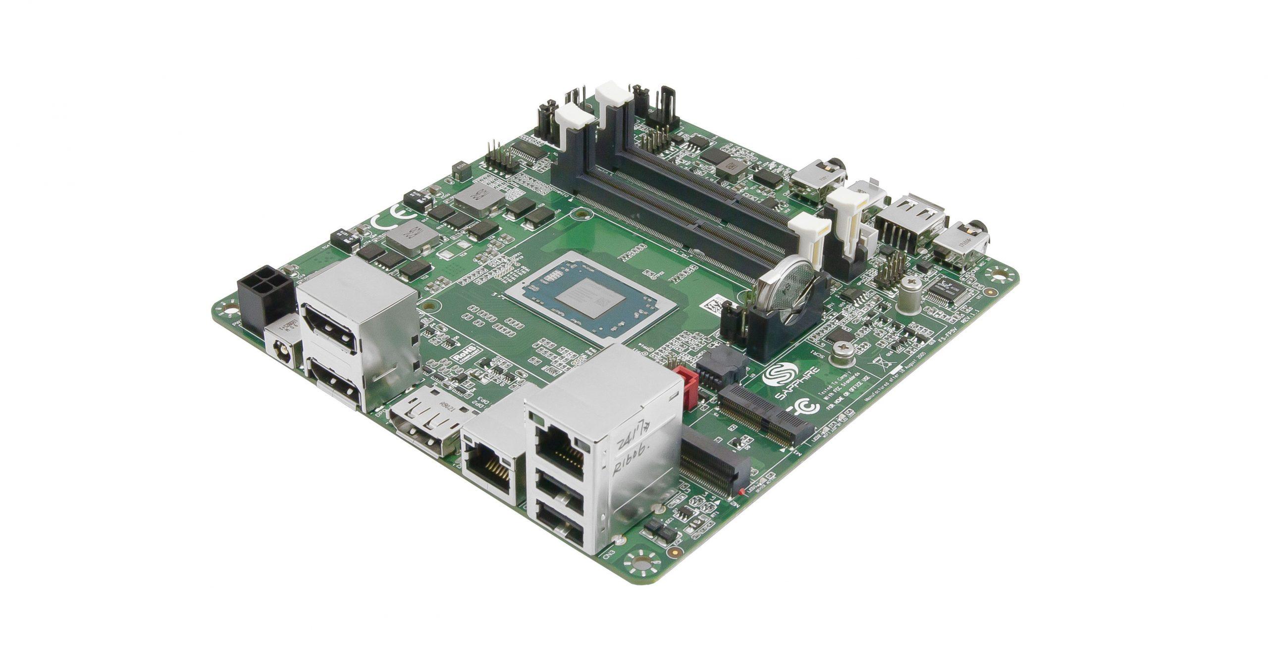 AMD FS-FP5R 5×5 – Development board with triple DP++ ports runs on Ryzen R1000