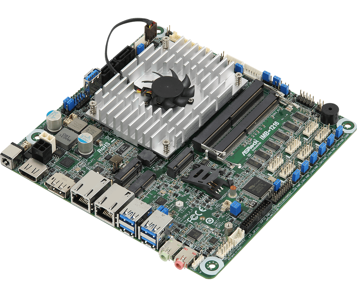 ASRock announces four Whiskey Lake-U based products