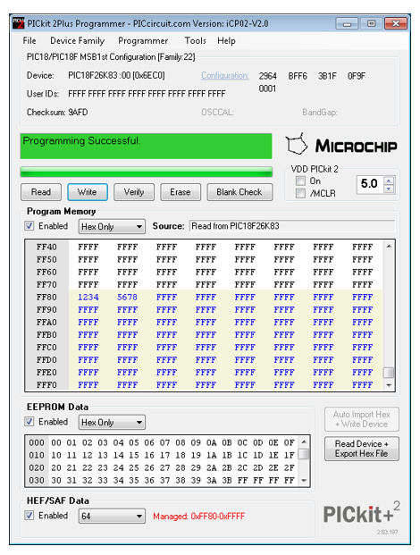 PICkitPlus - A programming software that revitalizes the