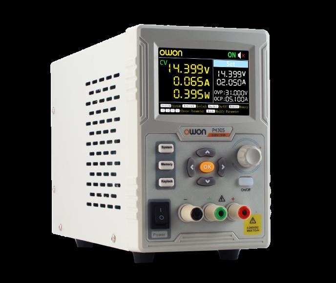 Owon P4603 1CH 0 – 60V / 0 – 3A 180W DC Power Supply