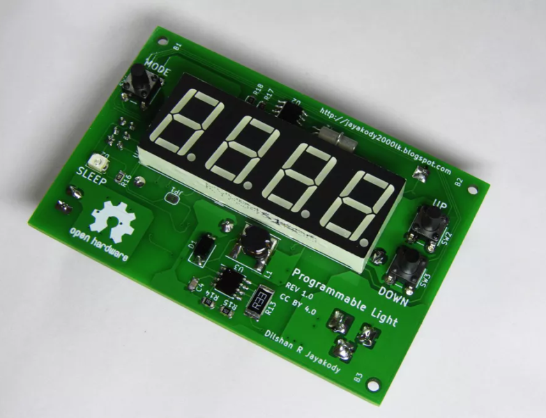 Programmable Day-Night Light Controller based on ATmega8