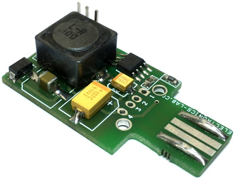 USB to +/-5V Voltage DC-DC switching Converter