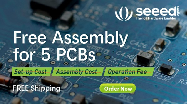 Seeed Studio Fusion PCBA Service - Free