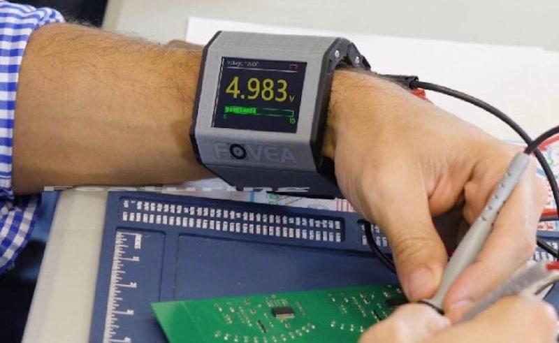 FOVEA – Wearable Embedded Multimeter