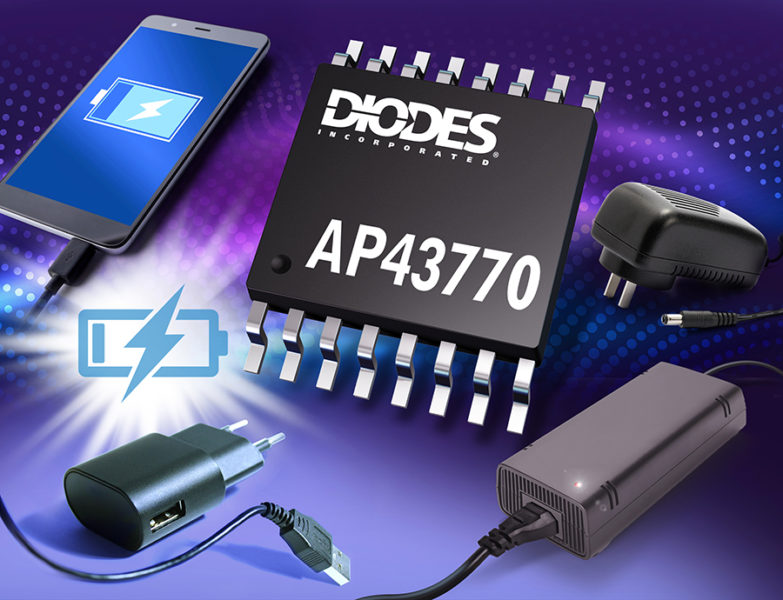 USB PD Controller from Diodes Supports Standard and Proprietary Protocols for Power Delivery