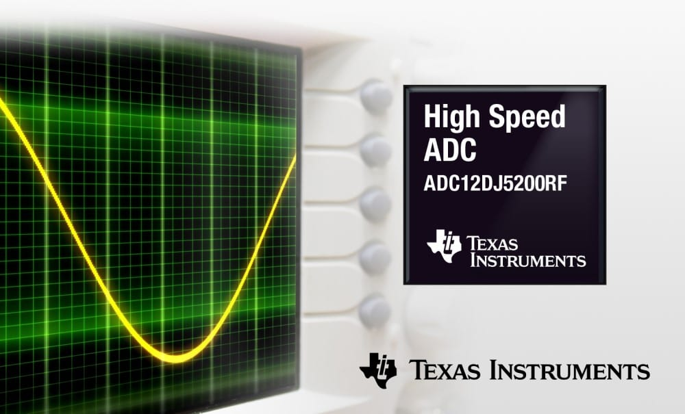 TI introduces a new ultra-high-speed analog-to-digital converter