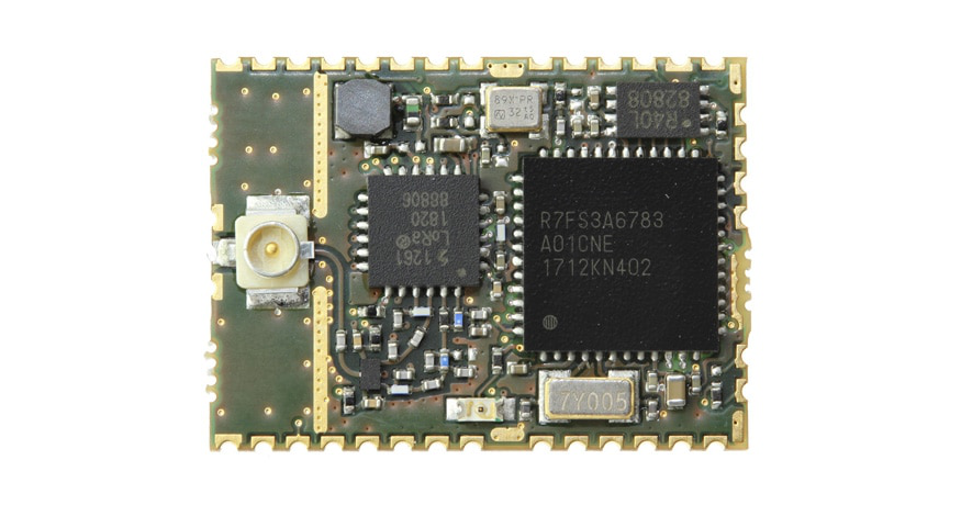 Renesas Synergy™ – FMLR-61-U-RSS3 LoRa® Module designed by Miromico
