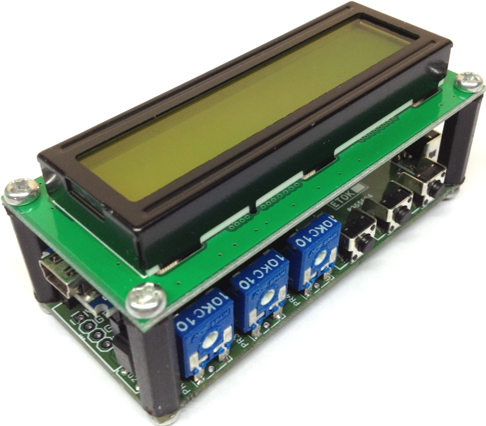 16×2 LCD Shield for Arduino Nano