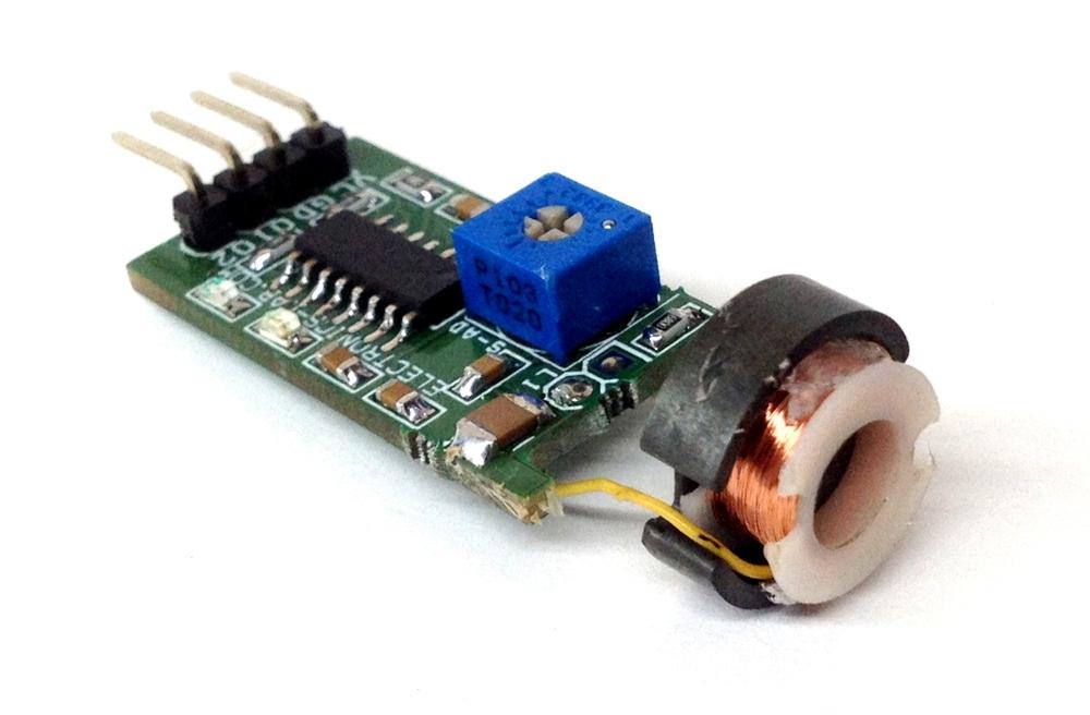 Inductive Proximity Sensor using TCA505