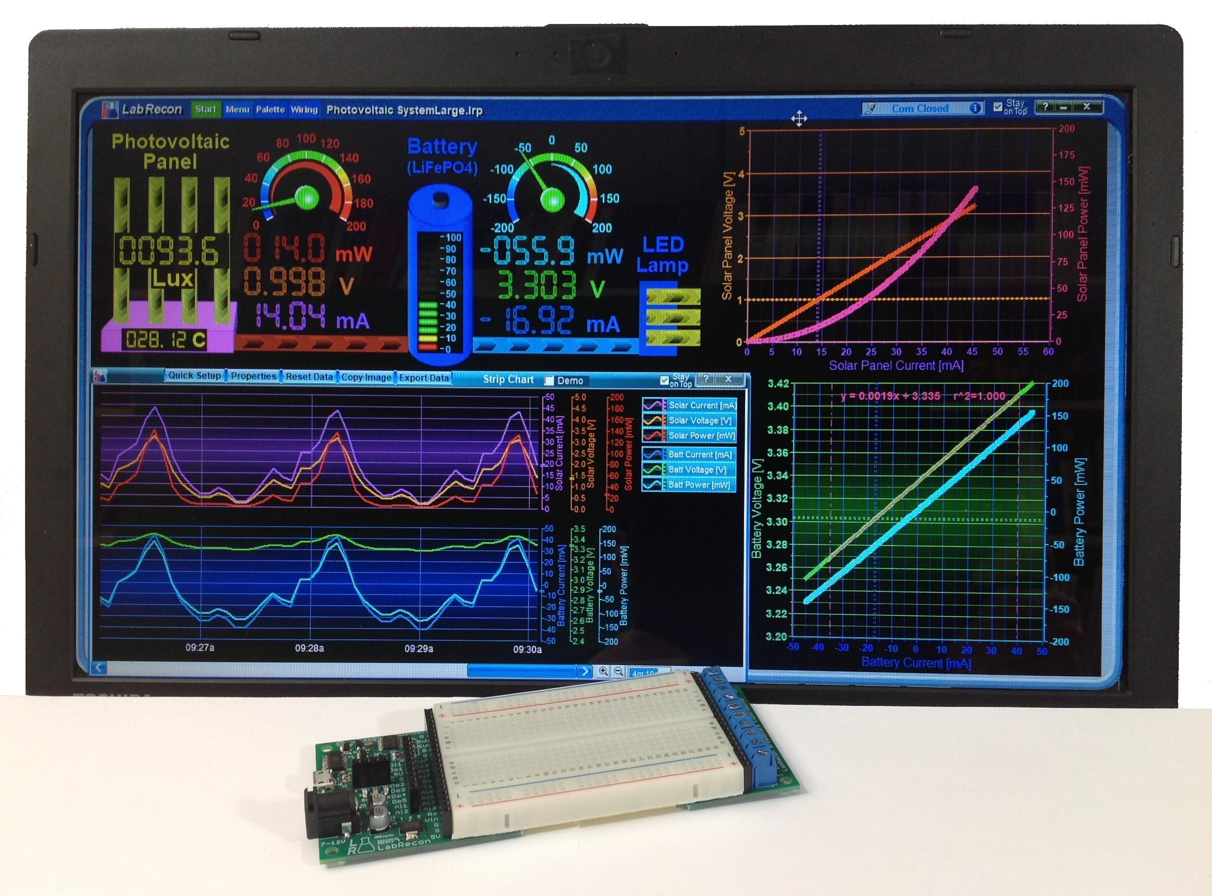 LabRecon: Drag & Drop Software and Hardware IoT Platform