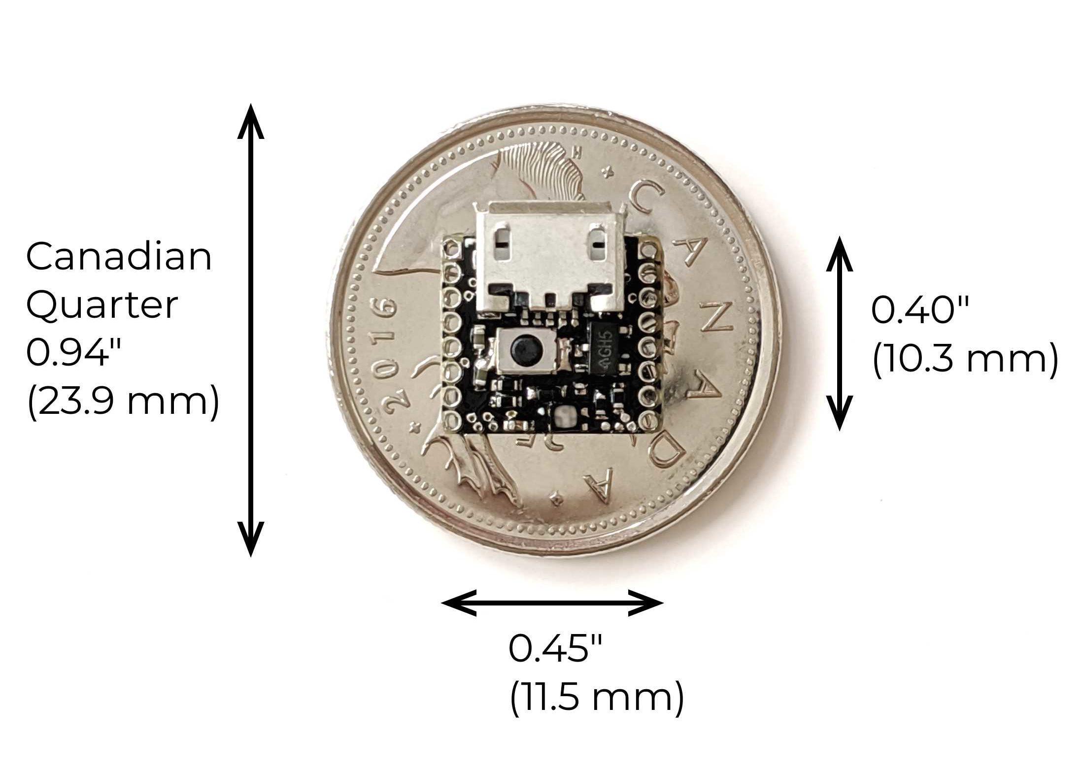 ATTO – The World's Smallest Arduino Compatible Board