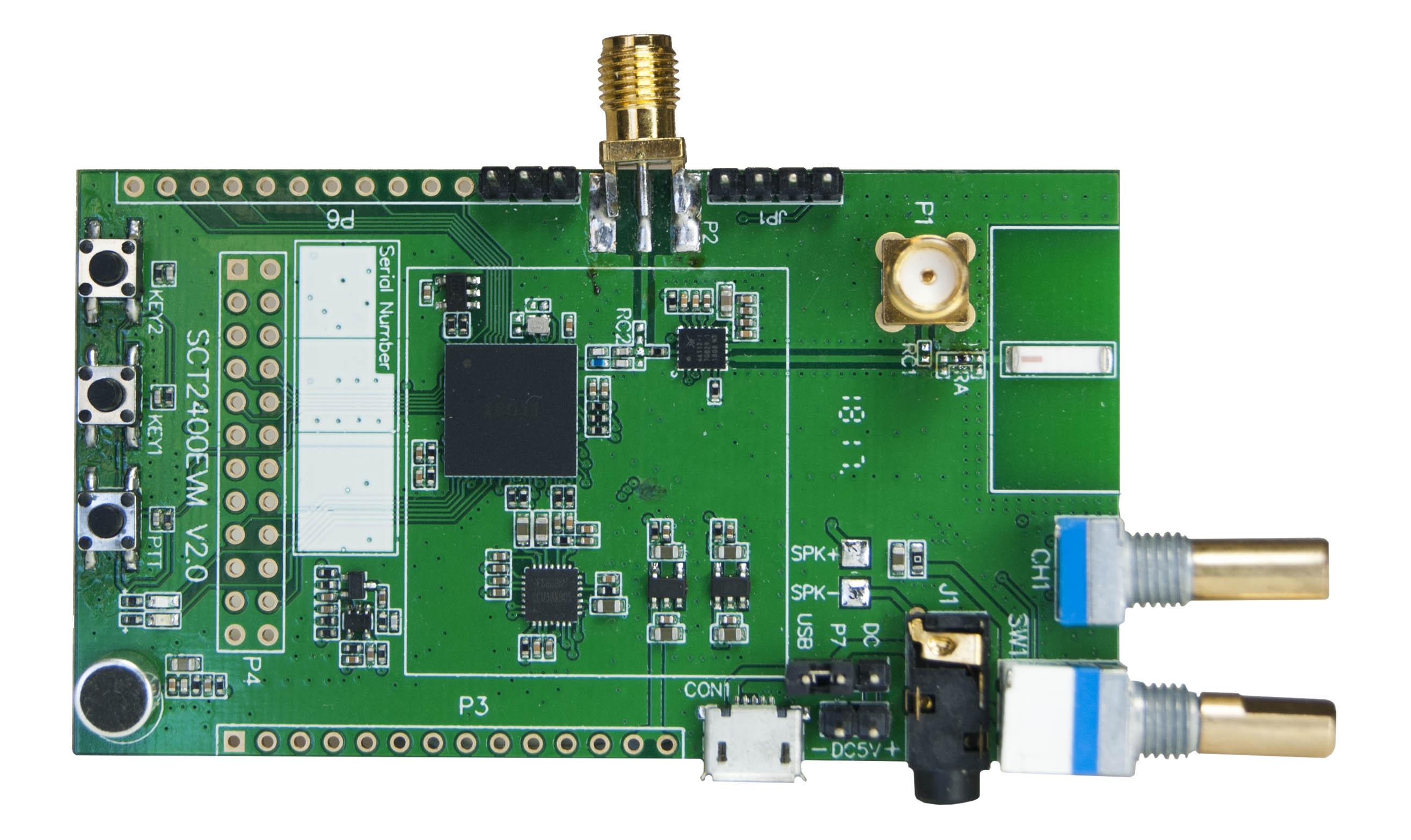 2.4GHz Digital Voice and Data Transceiver achieve 12km range