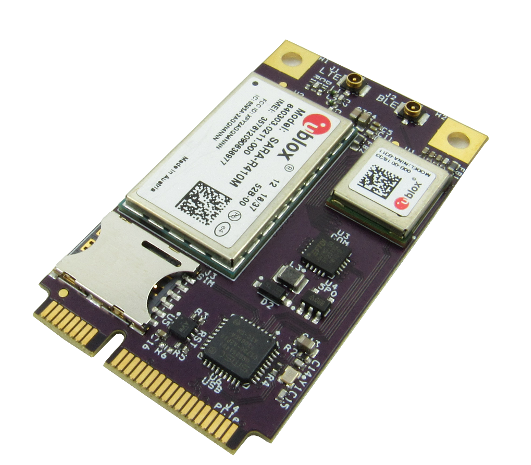 GW16126 Mini-PCIe Modem and Bluetooth Radio