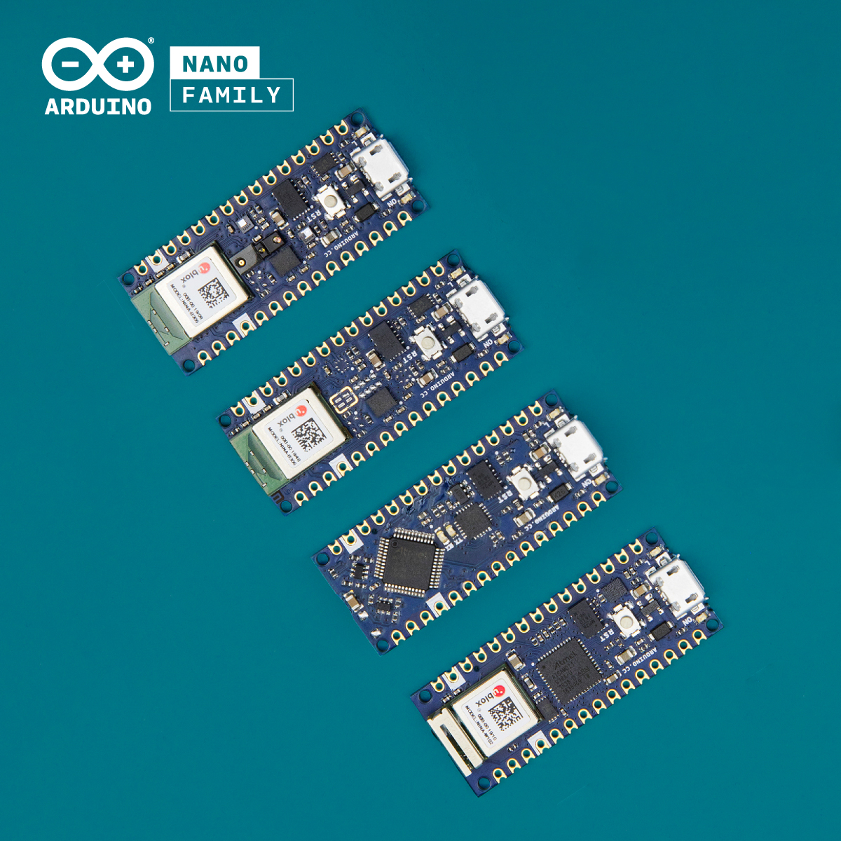Arduino Introduces 4x new Nano boards