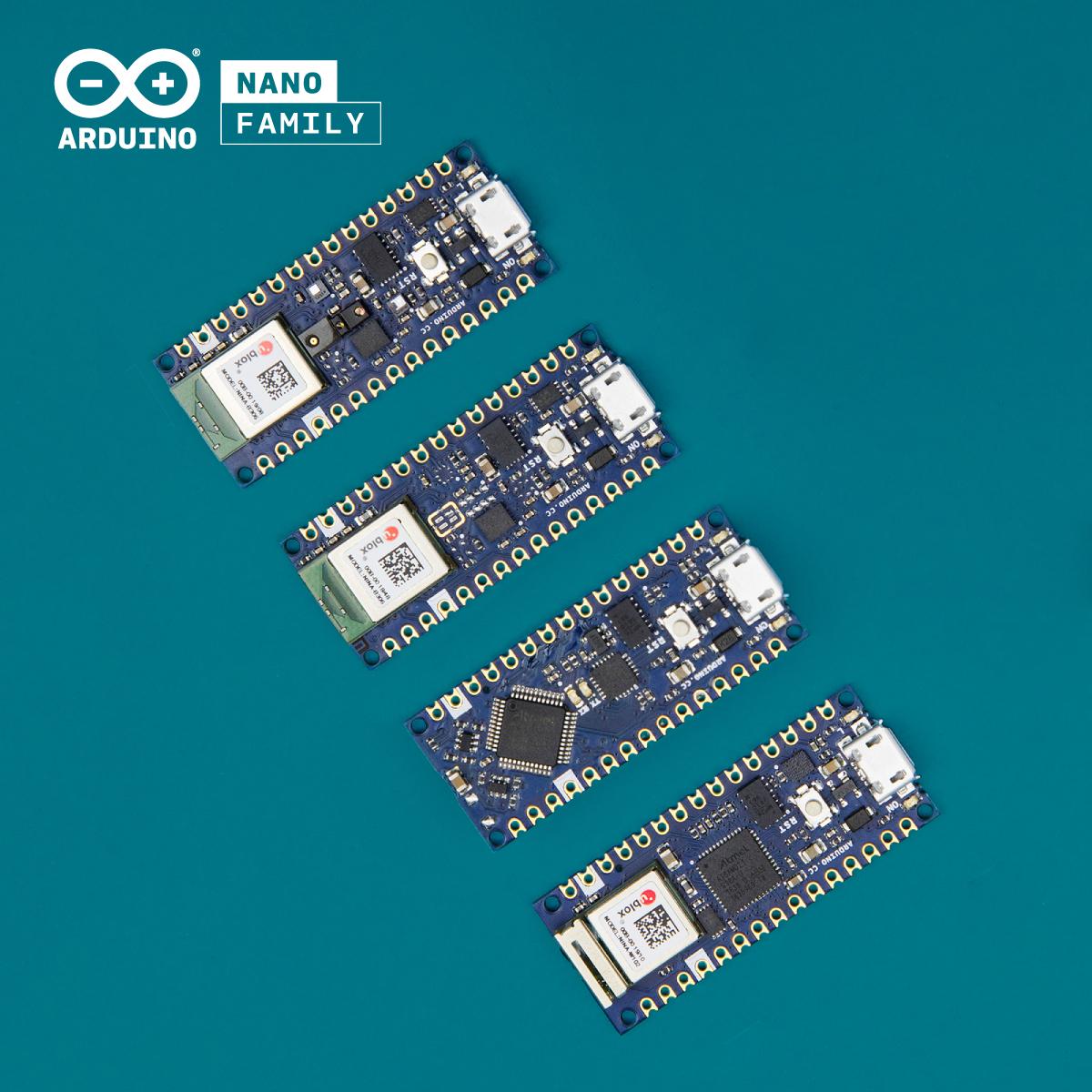 Arduino Introduces 4x new Nano boards