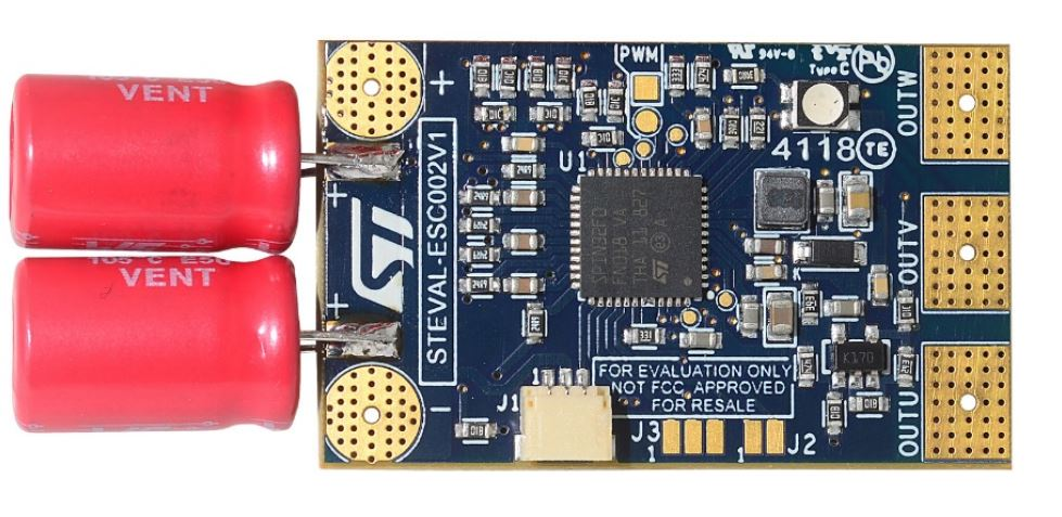 STMicroelectronics STEVAL-ESC002V1 Electronic Speed Controller Board