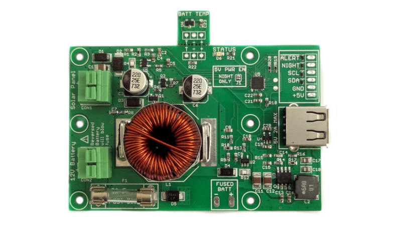 makerPower Solar – An intelligent solar power system for the internet of things.