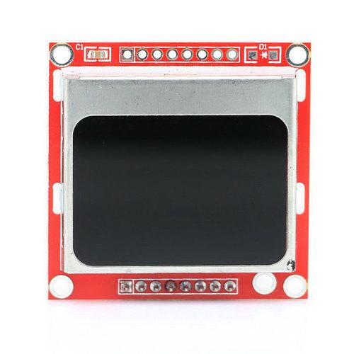 Menu on Nokia 5110 LCD display with Arduino
