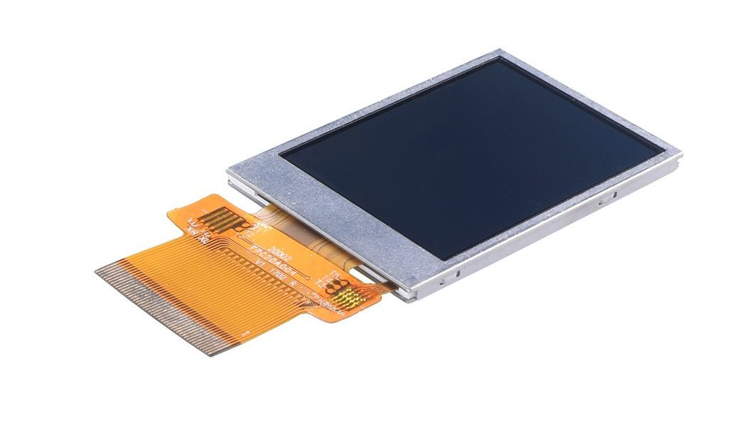 2.0″ 240×320 Transflective Display Panel – SPI, MCU, RGB