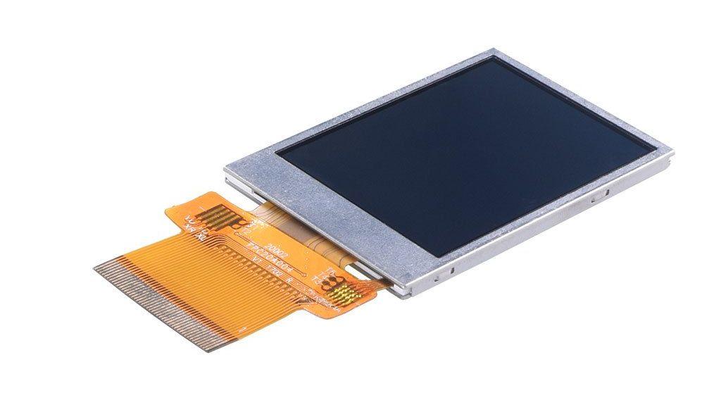 2.0″ 240×320 Transflective Display Panel – SPI, MCU, RGB