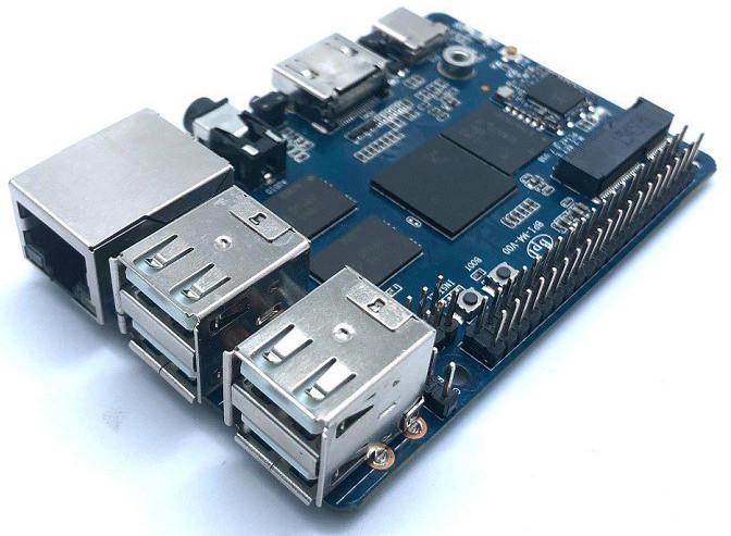 Banana Pi BPI-M4 SBC Features Realtek Quadcore Soc