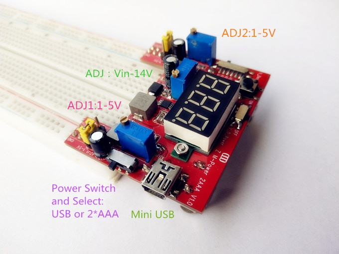 Zero Multi-Power Supply is Battery supported