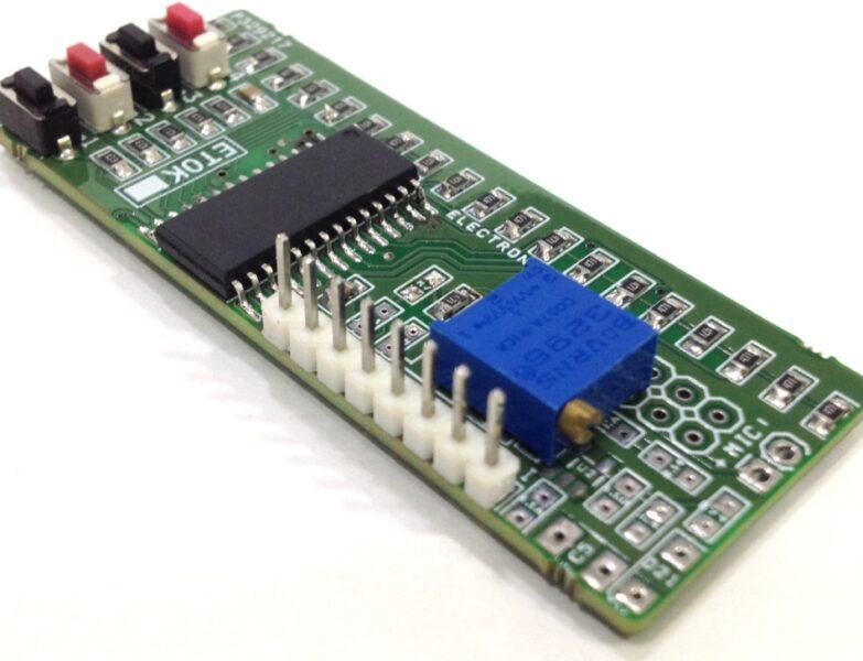 LED Lighting Effects Generator using PIC16F886