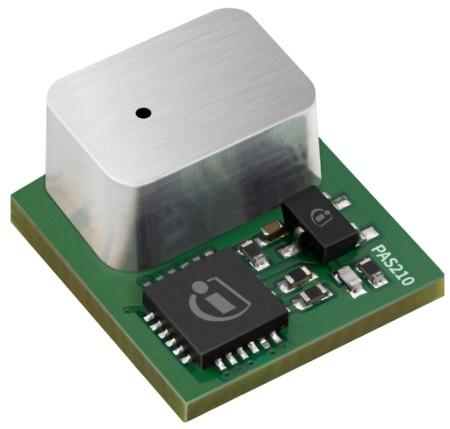 Photoacoustic spectroscopy (PAS) miniaturizes CO2 sensor XENSIV™ PAS210
