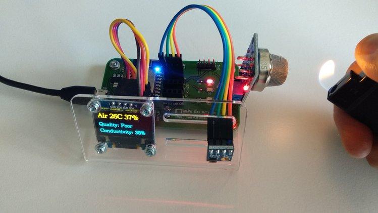 ANAVI Gas Detector – An ESP8266-powered air quality monitor