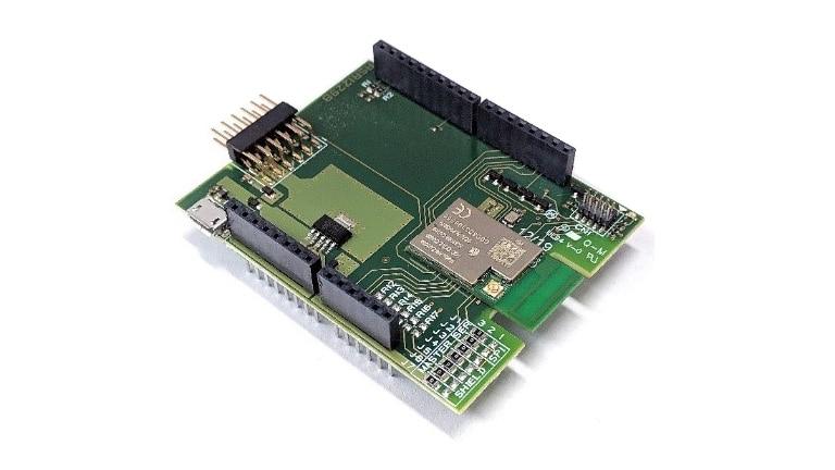 Avnet Silica WiFi Shield based on AW-Cu300A module