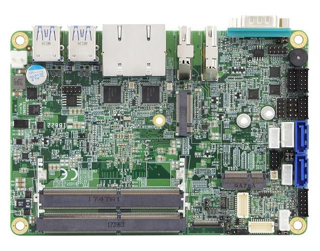 IB822 – 3.5-inch SBC features Intel Gemini Lake