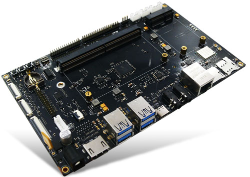 MYIR MYC-JX8MX Module supports Linux on i.MX8M COM