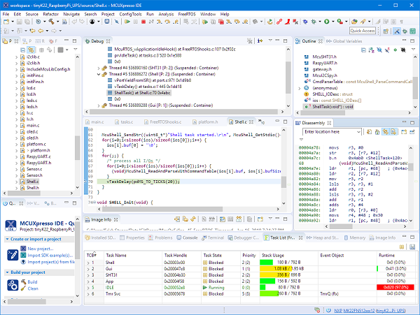 New NXP MCUXpresso Eclipse IDE v11.0