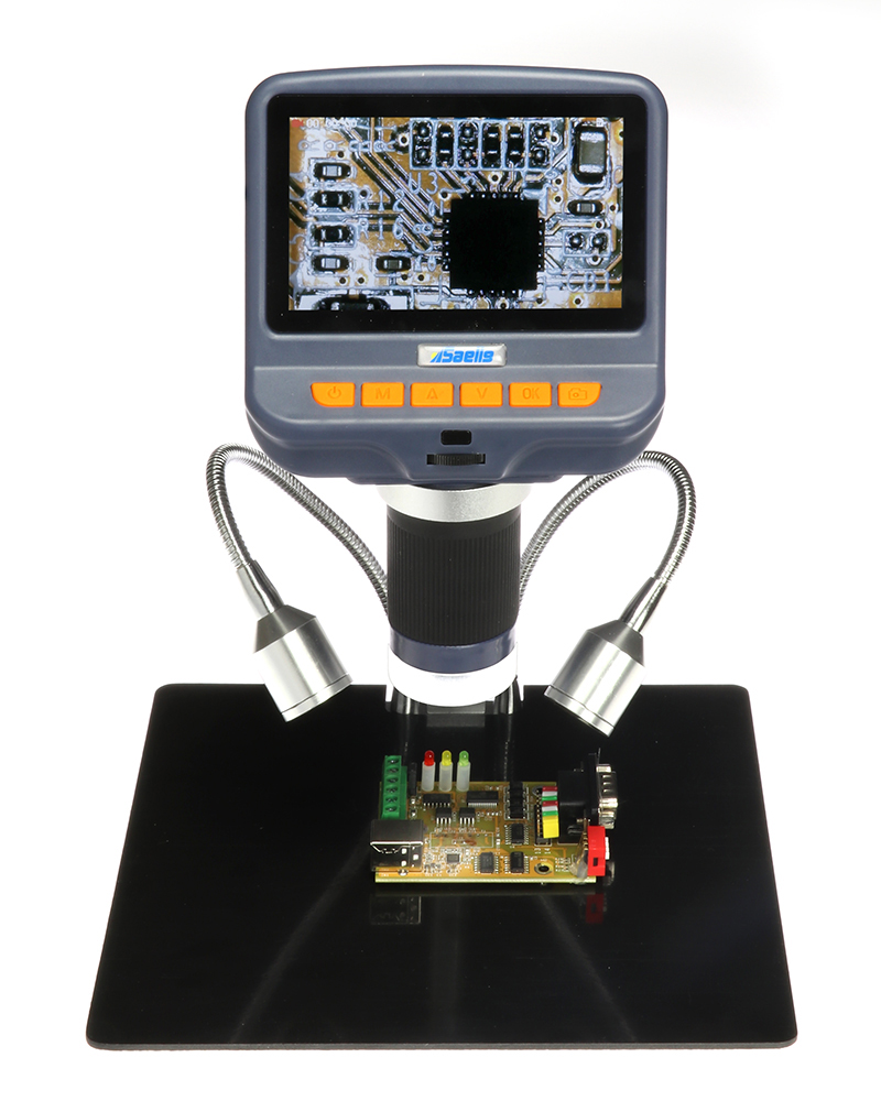 Saelig's SAE106S Digital PCB Microscope has 1080p resolution