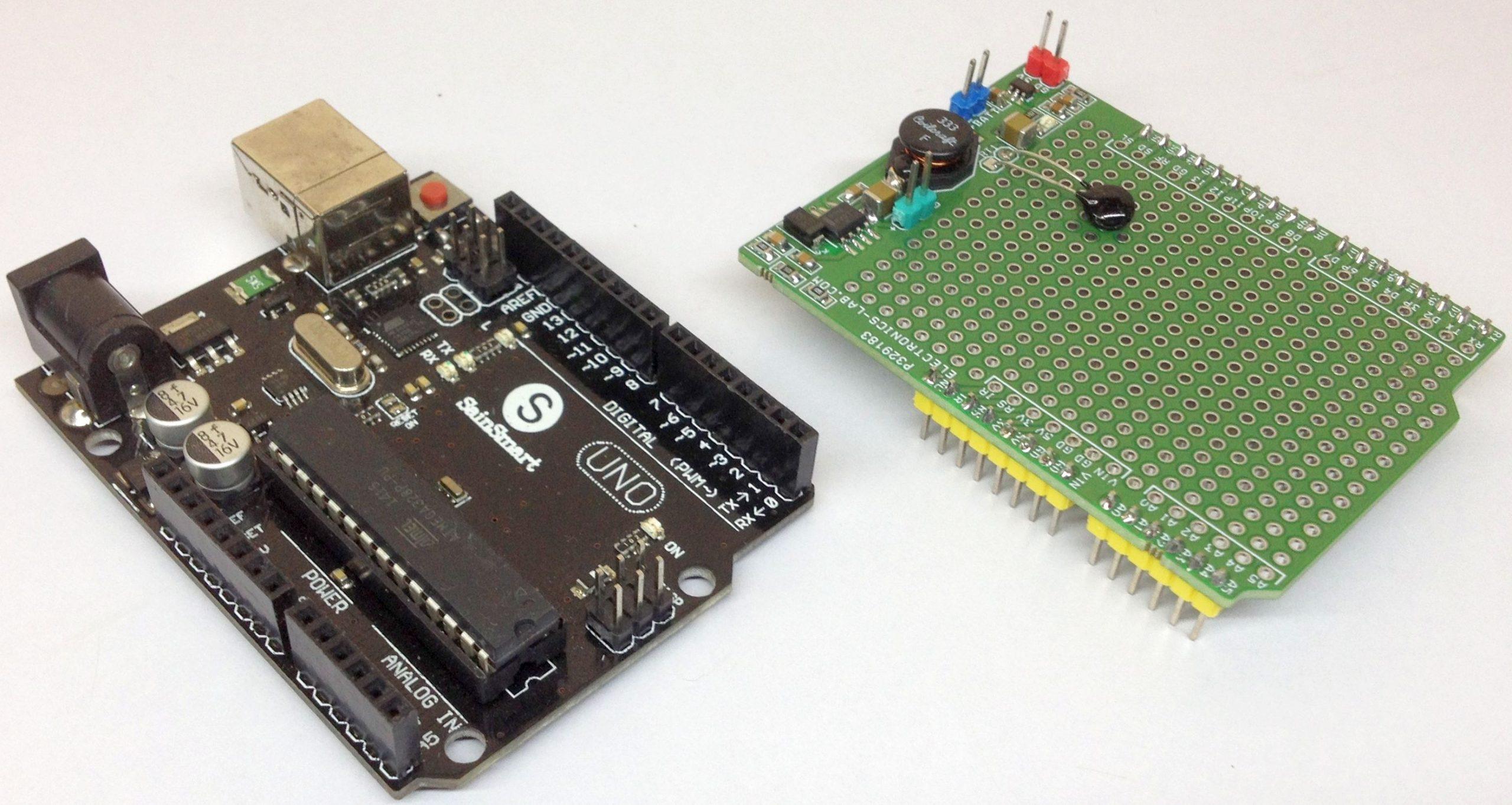 Li-Po/Li-Ion Arduino Charger Shield using BQ21040