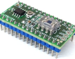 Multi Sensor Shield for Arduino Nano with Light, Magnetic Field & Temperature Sensor