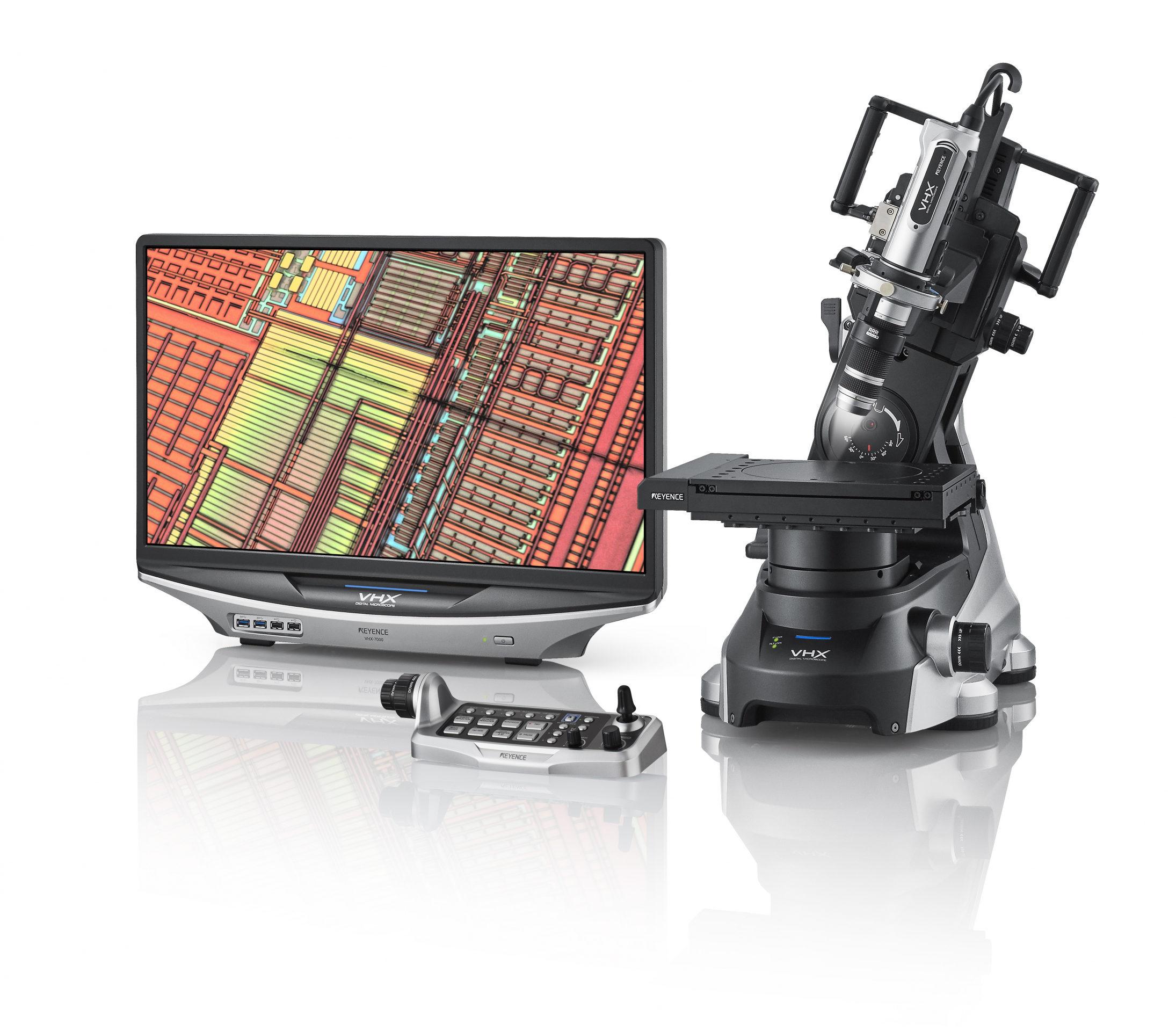 New Keyence VHX-7000 4K Microscope enhances view, capture and measure tasks