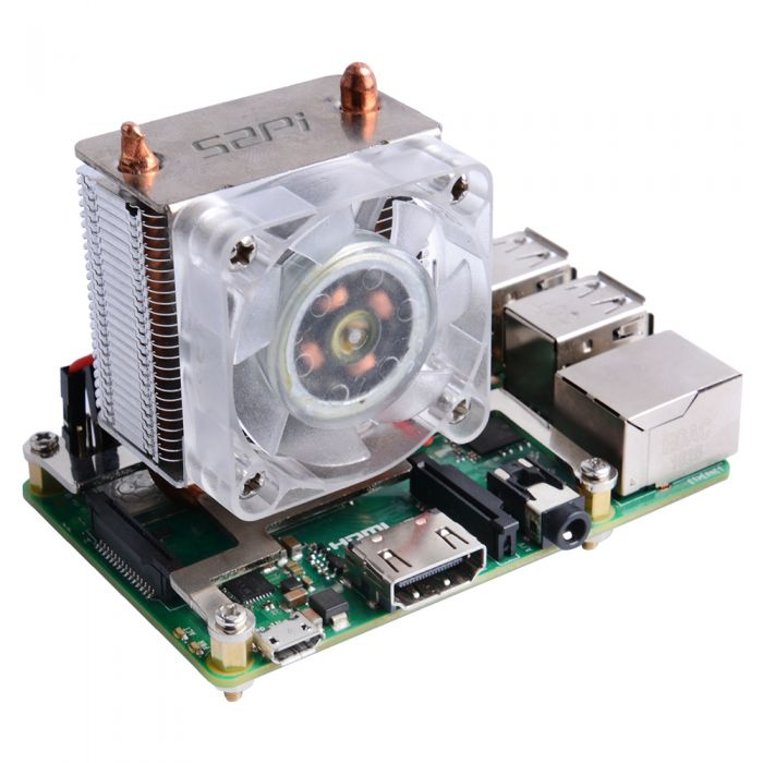 ICE Tower CPU Cooling Fan for Raspberry Pi 4