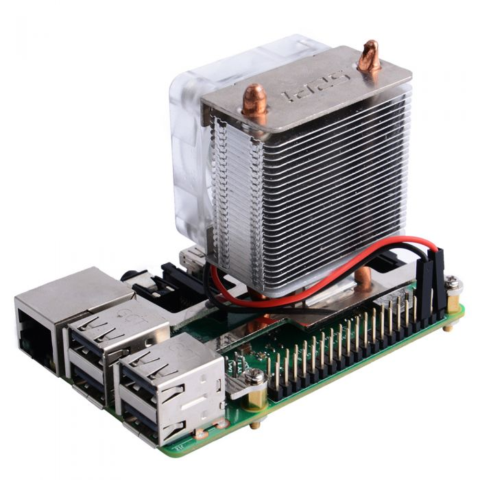 ICE Tower CPU Cooling Fan for Raspberry Pi 4 - Electronics-Lab