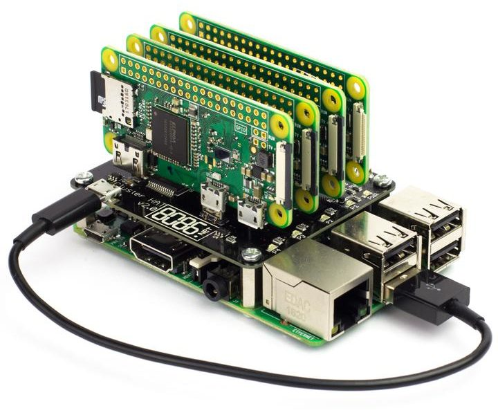Cluster HAT – Cluster Computing Made Easy Using 4 Raspberry Pi Zero