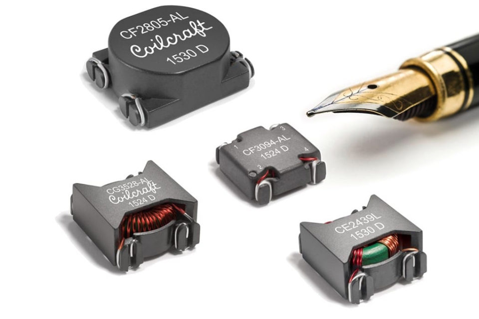 Coilcraft Releases Power Line EMI Chokes in 16 Sizes/Configurations
