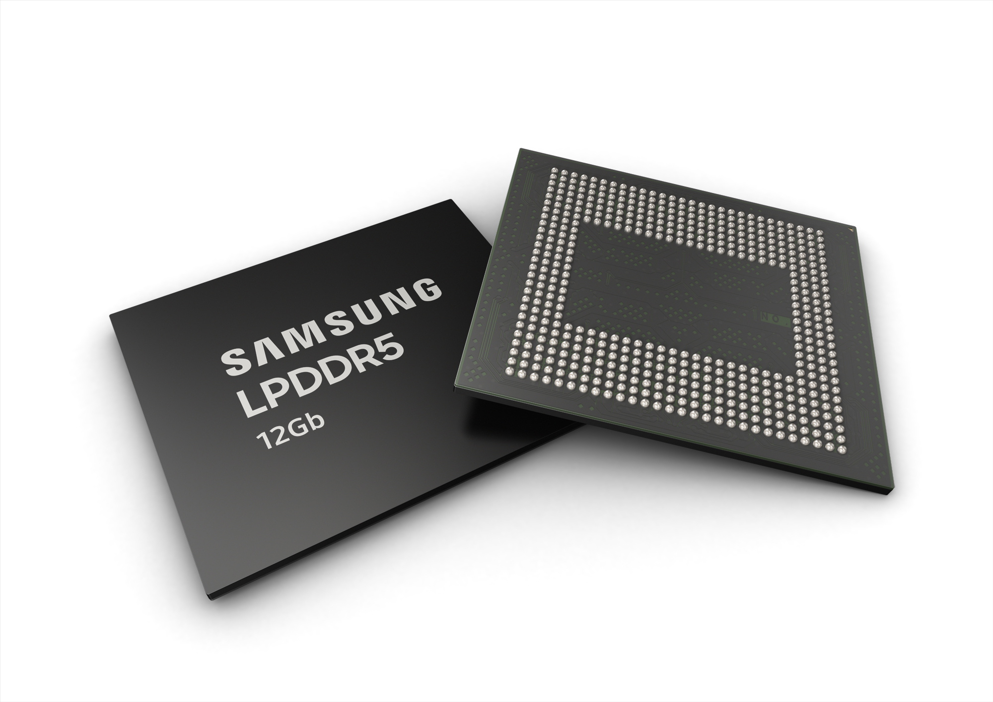 Samsung 12Gb LPDDR5 DRAM now in mass production
