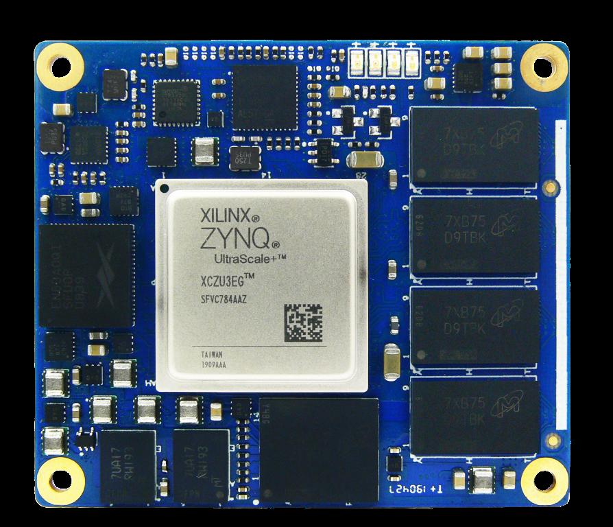 MYIR Introduces ARM SoM Based on Xilinx Zynq UltraScale+