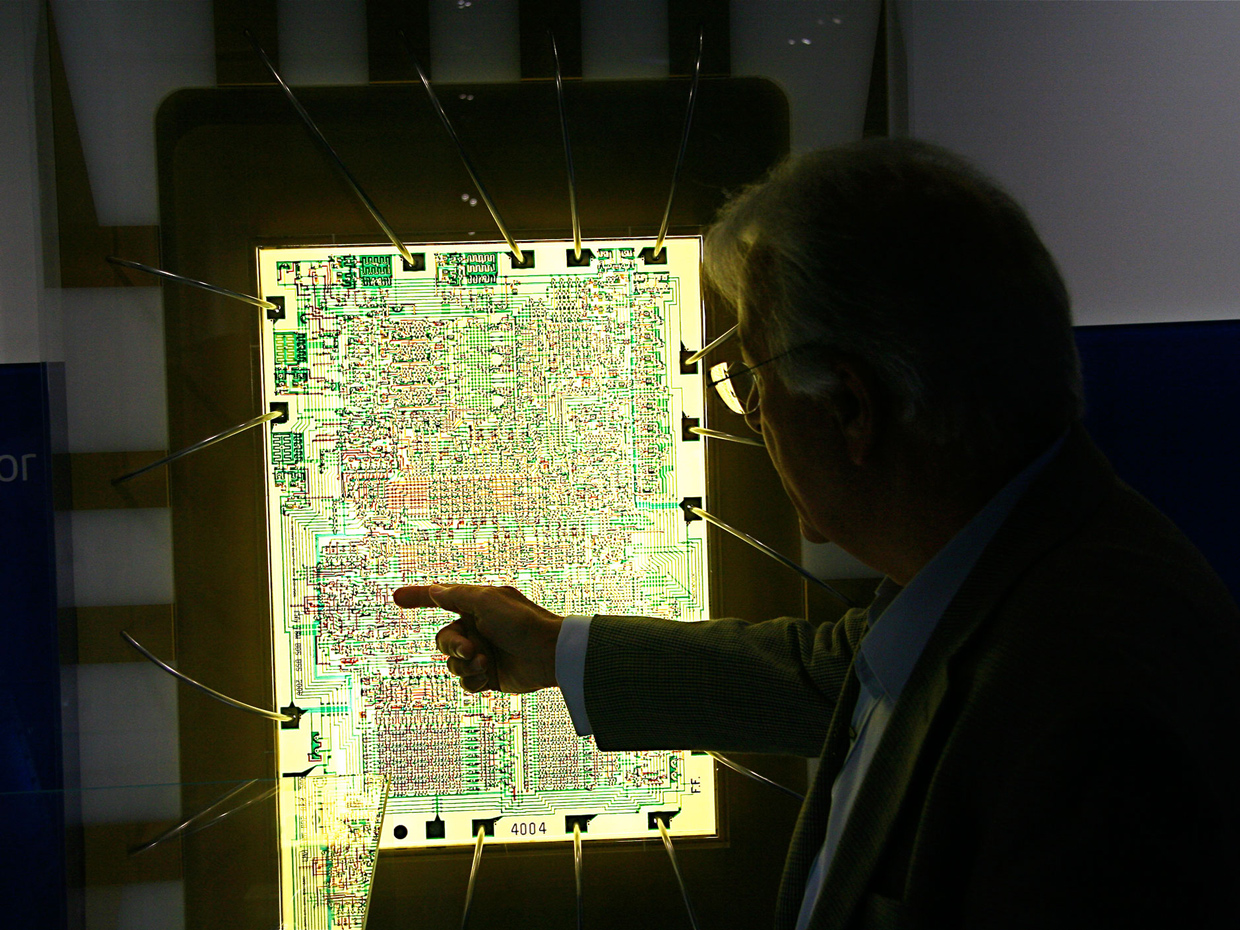 Chip Hall of Fame: Intel 4004 Microprocessor